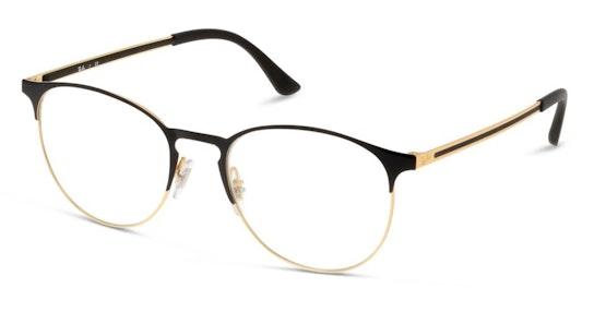 RX 6375 Unisex Glasses Transparent / Black