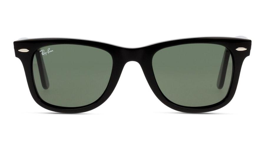 Ray-Ban Wayfarer Ease RB 4340 (601) Sunglasses Green / Black