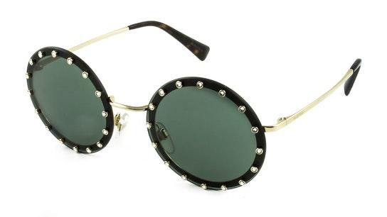 VA 2010B Women's Sunglasses Green / Gold