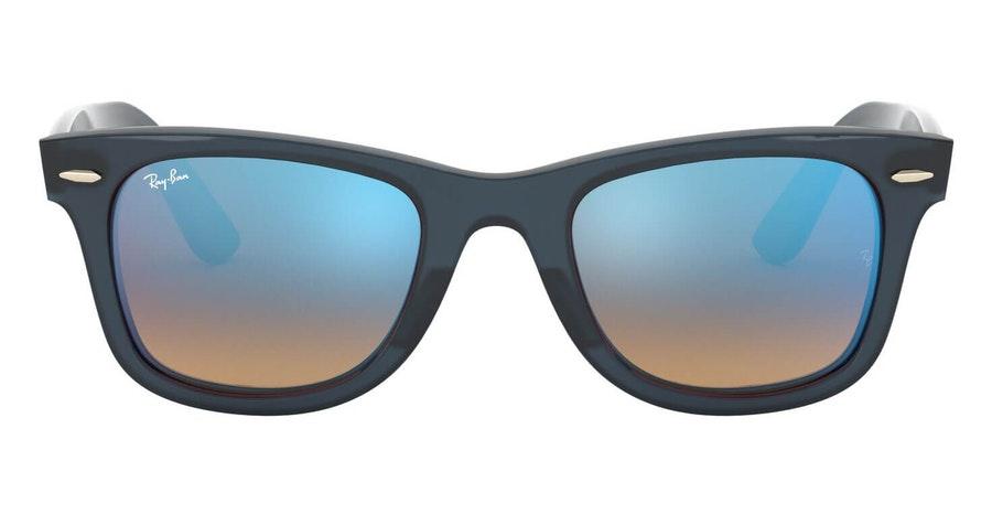Ray-Ban RB 4340 (62324O) Sunglasses Blue / Blue