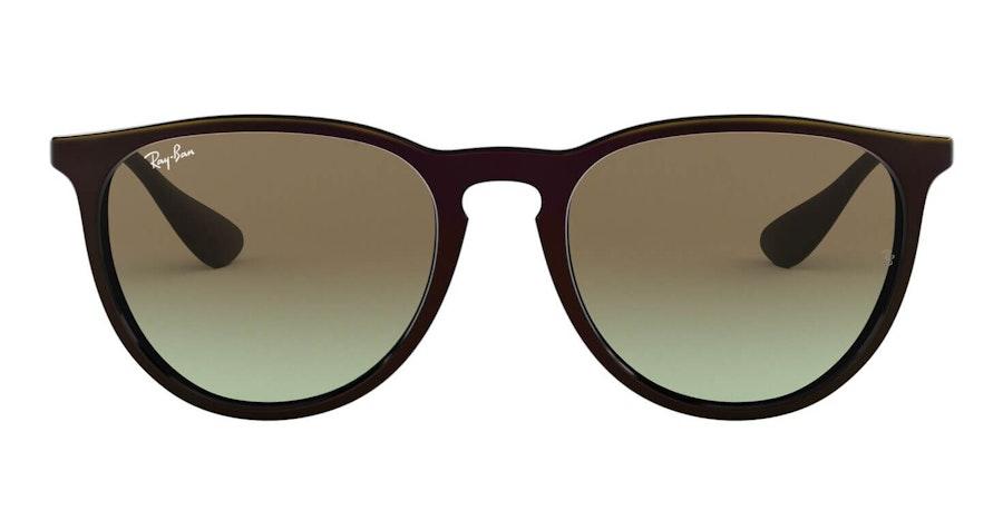 Ray-Ban Erika RB 4171 Woman's Sunglasses Brown/Black