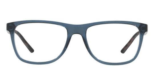 AX 3048 Men's Glasses Transparent / Blue