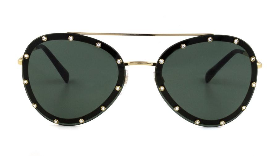 Valentino VA 2013 Women's Sunglasses Green / Gold