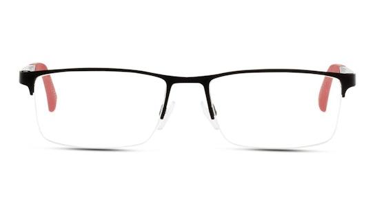 EA 1041 Men's Glasses Transparent / Red