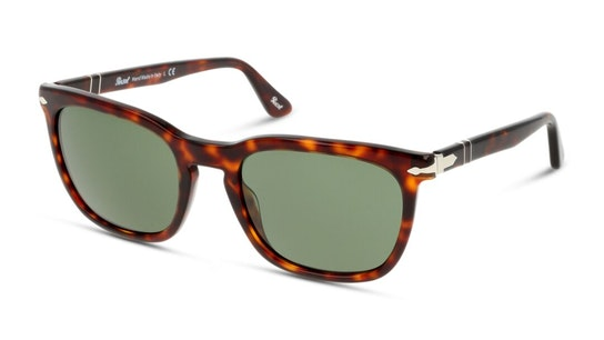 PO 3193S Men's Sunglasses Green / Tortoise Shell