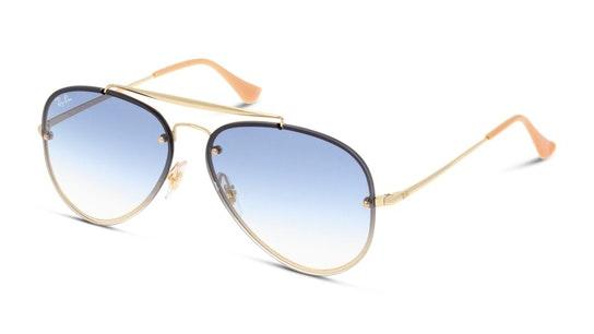 Blaze Aviator RB 3584N (001/19) Sunglasses Blue / Gold