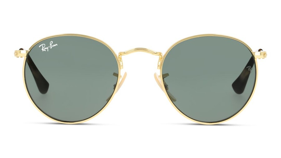 Ray-Ban Juniors RJ 9547S (223/71) Children's Sunglasses Green / Gold