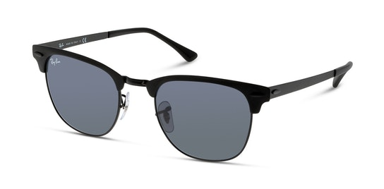 Club Master Metal RB 3716 Unisex Sunglasses Blue / Black