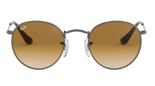 Round Metal RB 3447N (004/51) Sunglasses Brown / Grey