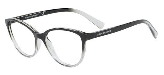 AX 8255 Women's Glasses Transparent / Black