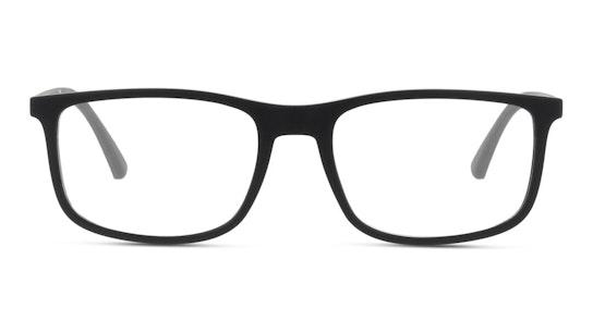 EA 3135 Men's Glasses Transparent / Black