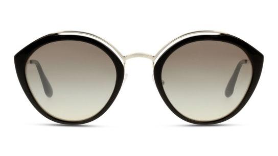 PR 18US (4BK5O0) Sunglasses Silver / Silver
