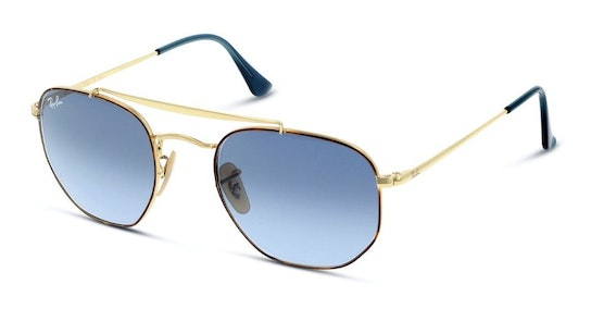 The Marshall RB 3648 (91023M) Sunglasses Blue / Gold