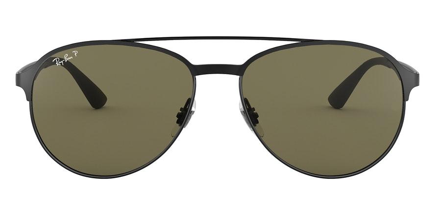 Ray-Ban RB 3606 Unisex Sunglasses Green / Black