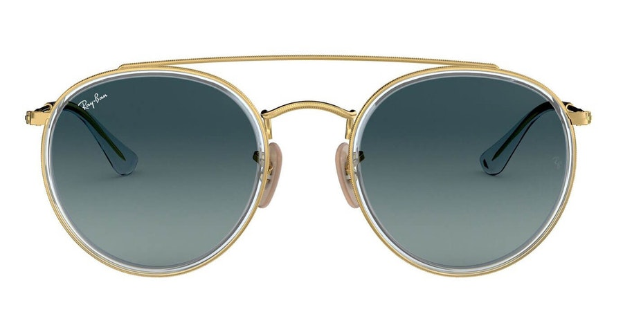 Ray-Ban RB 3647N Men's Sunglasses Grey/Gold