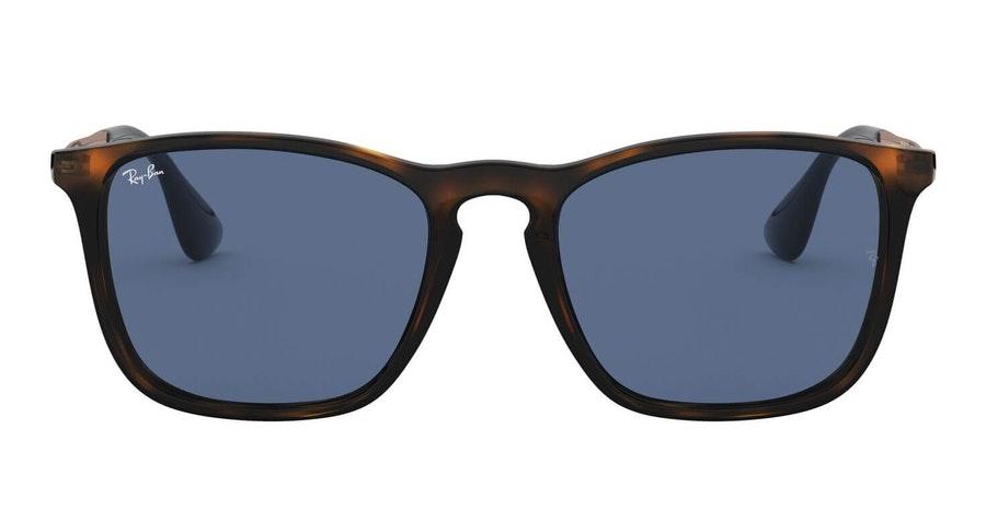 Ray-Ban Chris RB 4187 (639080) Sunglasses Blue / Tortoise Shell