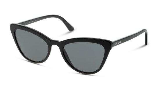 PR 01VS (1AB5S0) Sunglasses Grey / Black