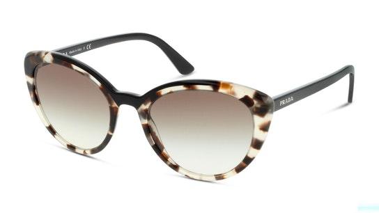 PR 02VS (3980A7) Sunglasses Grey / Tortoise Shell