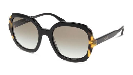PR 16US (3890A7) Sunglasses Brown / Black