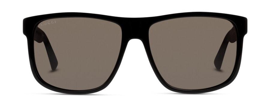 Gucci GG 0010S (001) Sunglasses Grey / Black
