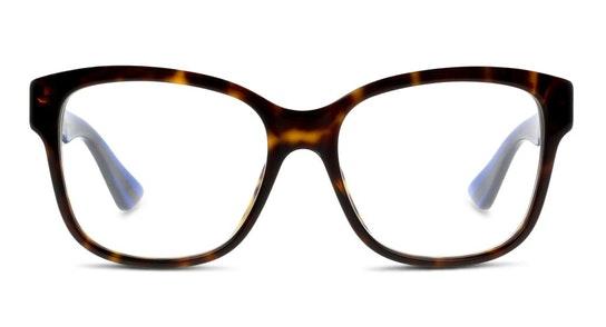 GG 0038O (003) Glasses Transparent / Tortoise Shell