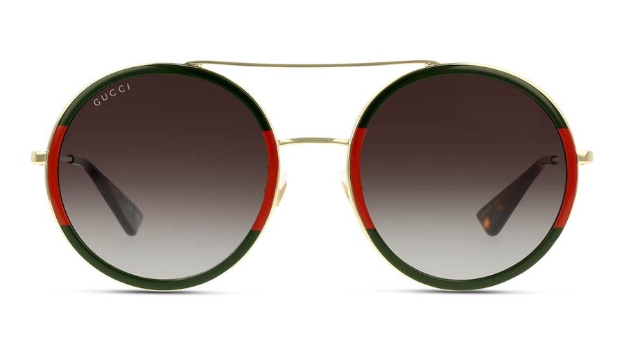 Gucci GG 0061S Unisex Sunglasses Green / Gold