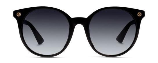 GG 0091S Women's Sunglasses Grey / Black