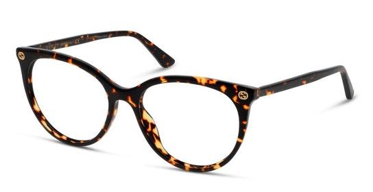 GG 0093O (002) Glasses Transparent / Brown