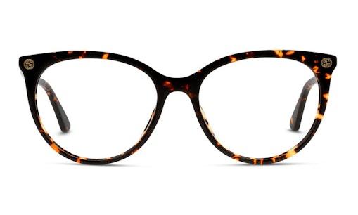 GG 0093O Women's Glasses Transparent / Brown