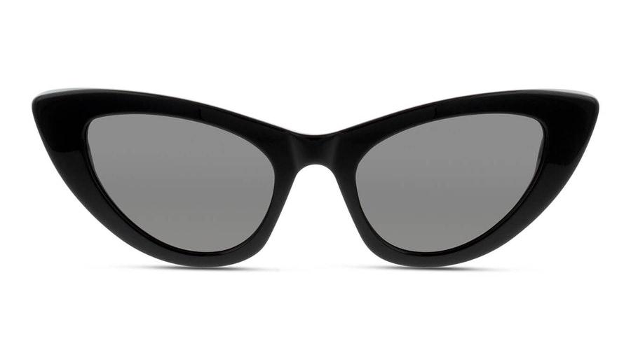 Saint Laurent Lily SL 213 (001) Sunglasses Grey / Black