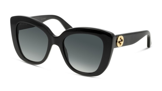GG 0327S Women's Sunglasses Grey / Black
