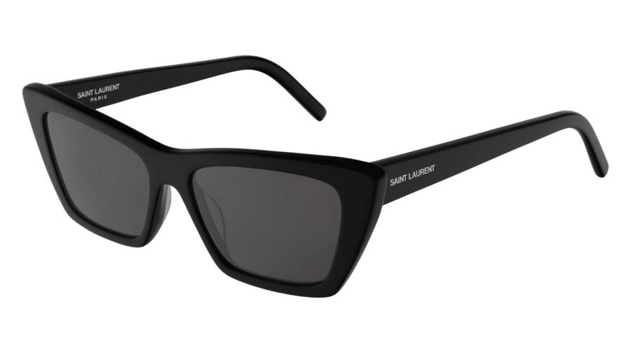 Saint Laurent SL 276 (001) Sunglasses Grey / Black