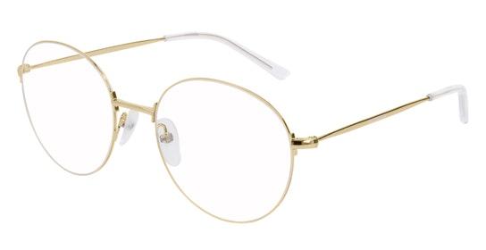 BB 0035O Unisex Glasses Transparent / Gold