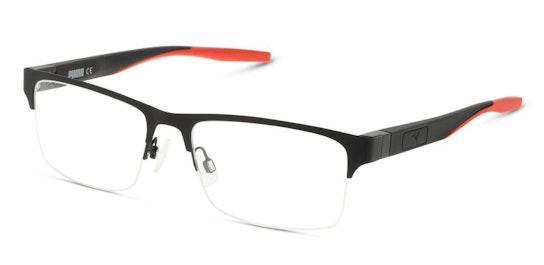 PU 0233O (Large) (003) Glasses Transparent / Black