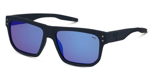 PU 0246S (002) Sunglasses Blue / Blue