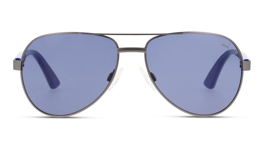 Puma Kids PJ 0027S Children's Sunglasses Blue / Grey