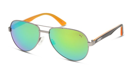 PJ 0027S (012) Children's Sunglasses Brown / Grey