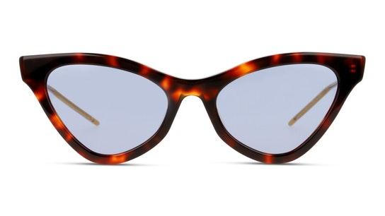 GG 0597S Women's Sunglasses Blue / Tortoise Shell