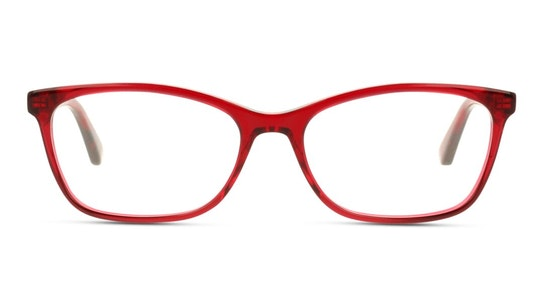 GG 0613O Women's Glasses Transparent / Red