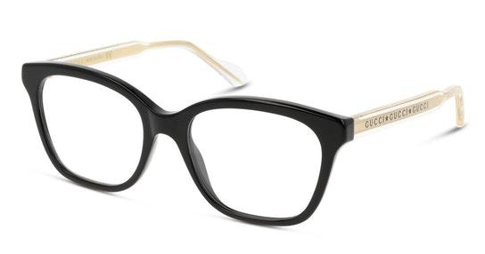GG 0566O (001) Glasses Transparent / Black