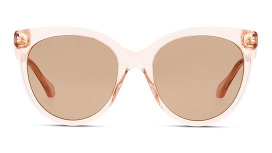 GG 0565S Women's Sunglasses Brown / Transparent