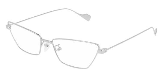 BB 0091O (Large) (002) Glasses Transparent / Silver