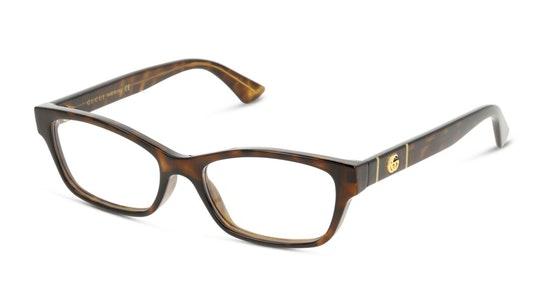GG 0635O (002) Glasses Transparent / Havana