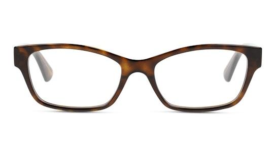 GG 0635O Women's Glasses Transparent / Havana