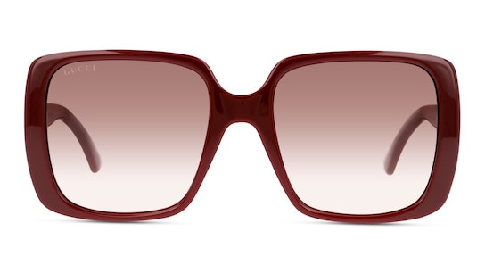 GG 0632S (003) Sunglasses Red / Red