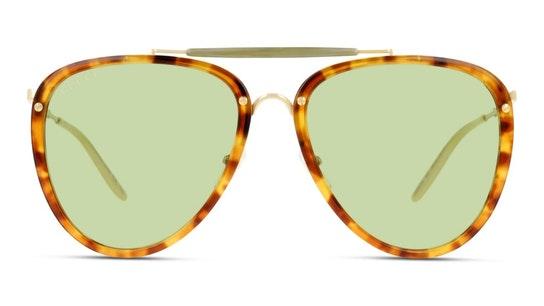 GG 0672S Men's Sunglasses Yellow / Havana