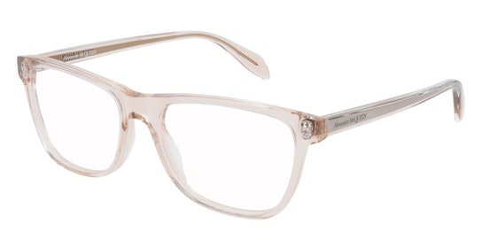 AM 0248O Women's Glasses Transparent / Brown