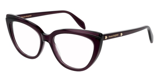 AM 0253O Women's Glasses Transparent / Violet