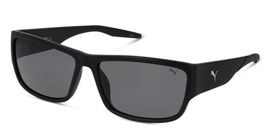 PE 0121S (001) Sunglasses Grey / Black