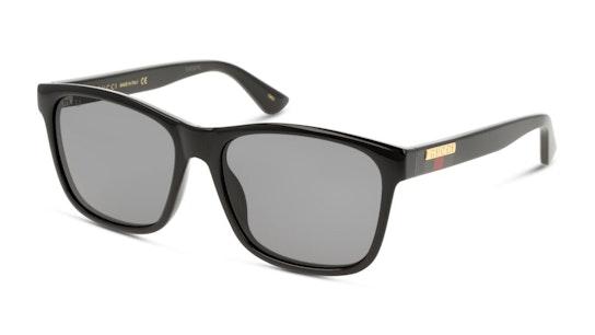 GG 0746S Men's Sunglasses Grey / Black